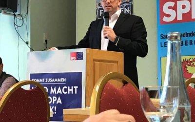 SPD DUINGERLAND BEI DER MITGLIEDERVERSAMMLUNG DES SPD SAMTGEMEINDEVERBANDES LEINEBERGLAND