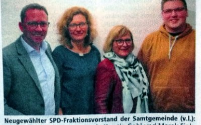 Neuer Vorstand in der SPD-Samtgemeindefraktion